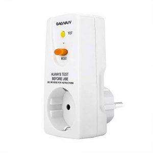 OAONAN Disjoncteurs AdaptateurRCDdesécurité 16 AMP RCD Plug Pour Appareils Ménagers et Outils - Blanc de la marque OAONAN image 0 produit