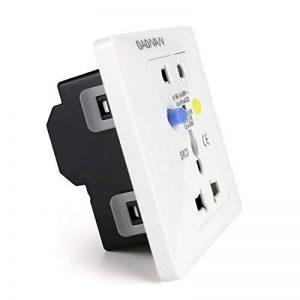 OAONAN prise électrique avec Disjoncteur personne Protection plaque murale 16A de la marque OAONAN image 0 produit