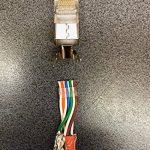 odedo® Lot de 10Fiche Orange Cat 7, Cat 7A, Cat 6a à sertir pour câble de pose à 8mm 10Gbit Ethernet Gigabit Starre ou brins 1.2mm-1.45mm Fiche RJ45Métal blindé flexible avec Passe-fil de la marque odedo® image 3 produit