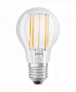 OSRAM lampe LED | Culot: E27 | Blanc chaud | 2700 K | 11 W | Equivalence incandescent : 100 W | dépolie | LED BASE CLASSIC A [Classe d'énergie efficace A++] de la marque Osram image 0 produit