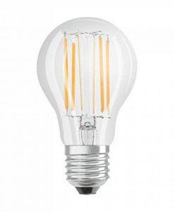 OSRAM lampe LED | Culot: E27 | Blanc froid | 4000 K | 8 W | Equivalence incandescent : 75 W | LED BASE CLASSIC A [Classe d'énergie efficace A++] de la marque Osram image 0 produit