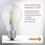 OSRAM LED BASE CLASSIC B / Lampe LED, de forme flamme , avec un style filament, avec un culot à vis: E14, 4 W, 220…240 V, 40 W remplacement, clair, 2700 K, 2pack de la marque Osram image 2 produit