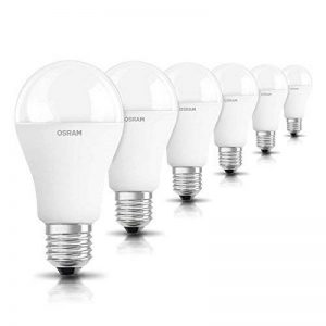 OSRAM LED STAR Ampoule LED, Forme Classique, Culot E27, 14,5W Equivalent 100W, 220-240V, dépolie, Blanc Froid 4000K, Lot de 6 pièces de la marque Osram image 0 produit