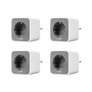 Osram SMART+ - 4x Prise Connectée Smart Plug Zigbee - Reliez vos Lampes Conventionnelles ou Appareils Electriques à votre Installation Smart Home - Compatible avec Alexa de la marque Osram image 0 produit
