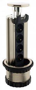 Otio - Bloc escamotable 4 prises 16A 2P+T avec éclairage LED Bleu de la marque Otio image 0 produit