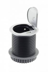 Otio - Bloc prise avec clapet + 1 port usb de la marque Otio image 0 produit