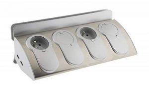 Otio - Bloc Prise d'Angle 4x 16A avec 2x USB et Support Tablette de la marque Otio image 0 produit