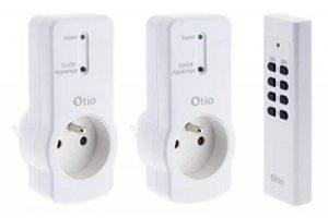 Otio - Lot de 2 prises 16A 2P+T télécommandées avec télécommande de la marque Otio image 0 produit
