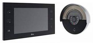 Otio - Portier vidéo VisiHome avec mémoire interne - 2 fils de la marque Otio image 0 produit