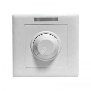 Ounona Tension constante LED Variateur PWM contrôleur LED Interrupteur variateur d'intensité pour LED Cabinet lumière Strip Light rigide Barre lumineuse d'éclairage de la marque OUNONA image 0 produit