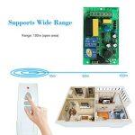 OWSOO AC220V 433MHz Type D'apprentissage Contrôleur de Récepteur Sans Fil Bidirectionnel,Interrupteur de Télécommande Sans Ffil +3 Boutons MoAC220V 433MHz dèle: Ensemble de Contrôleur de Rideau de la marque OWSOO image 3 produit