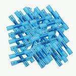 Oxoxo 60pcs de raccords de fil électrique, thermorétractables Connecteurs, étanche fils Connecteurs isolés à sertir Bornes électriques Marine Automotive (30red 30blue) de la marque OxoxO image 1 produit