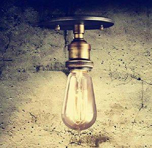OYGROUP E27 Loft Plafonnier Socket Lampe Industrielle pour Corridor Cafe Shop Bar de la marque OYGROUP image 0 produit