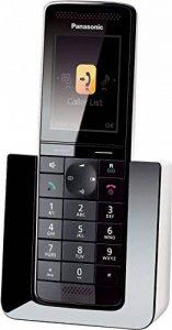 Panasonic KX-PRS120FRW Téléphone sans fil DECT/GAP avec Répondeur Ethernet Noir de la marque Panasonic image 0 produit