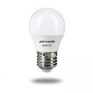 Paul Russels Lot de 37W = 60W Golf ampoules LED E27ES Culot à vis Edison 7W Petit Globe G45270Faisceau lampe 2700K Blanc chaud 60W Ampoule à incandescence de remplacement de la marque paul russells image 0 produit