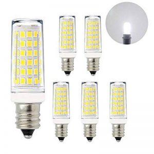 Petite Lampes Ampoule Maïs Petit Culot a Visser SES E14 a LED 11W Blanc Froid 6000K La Plus Brillante 1000Lm AC220-240V pour Lampe de Lustre Plafonnier Candelabre, Lot de 6 de Enuotek de la marque ENUOTEK image 0 produit