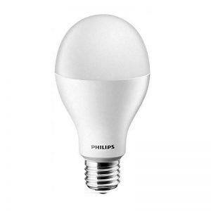 Philips 18W (= 130) Mega Lumineux Ampoule LED Lampe (= E26 Edison) vis E27 220 V Blanc Froid 6500 K 2,000Lumen longue durée de la marque Philips image 0 produit