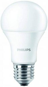 Philips 7W (= 60W) Ampoule LED Lampe E26(=) E27culot à vis 220V blanc chaud 3000K ÉCONOMIE D'ÉNERGIE longue durée Glace Crème Cône de la marque Philips image 0 produit