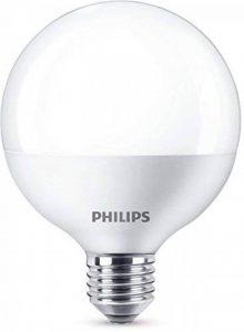 Philips Ampoule LED Globe Culot E27, 15 W equivalent 100W, Blanc Chaud 2700K de la marque Philips Lighting image 0 produit