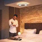 Philips HueBeing Plafonnier Noir White Ambiance 32W [Interrupteur avec Variateur Inclus], Lampe Connectée - Lumière Naturelle - Compatible avec Apple Homekit - Fonctionne avec Alexa de la marque Philips Lighting image 4 produit