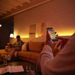Philips Hue Kit de Démarrage White And Ambiance avec 3XE27 9,5W [Pont et Interrupteur avec Variateur Inclus] - Fonctionne avec Alexa de la marque Philips Lighting image 2 produit