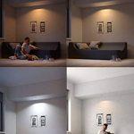 Philips Hue Luminaire télécommandé Spot encastré MILLISKIN Rond Chrome + Dim Switch télécommande Hue variateur de lumière - Fonctionne avec Alexa de la marque Philips Lighting image 4 produit