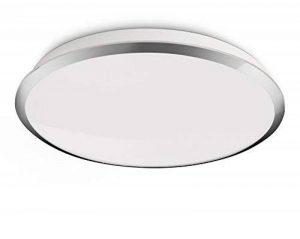Philips Plafonnier LED Denim Luminaire d'intérieur Métallique Matières synthétiques de la marque Philips Lighting image 0 produit