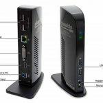 Plugable USB 3.0 Station d'accueil universelle avec sortie vidéo double pour Windows 10, 8.1, 8, 7, XP (HDMI/DVI / VGA, Gigabit Ethernet, Audio, 2 ports USB 3.0, 4 ports USB 2.0) de la marque Plugable image 2 produit