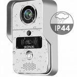 Portier audio et vidéo 720p Wi-Fi, détecteur de mouvement, lecteur RFID - Konx de la marque KONX image 1 produit