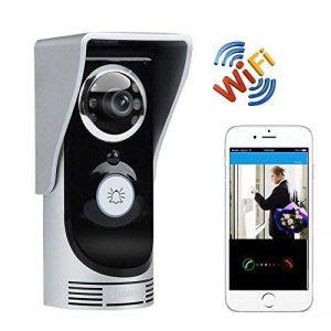 Portier Vidéo Sans Fil Interphone Wifi Étanche Visiophone Android Ios de la marque YONIS image 0 produit