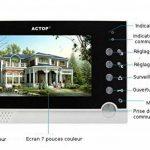 Portier vidéo, visiophone avec lecteur de badge RFID de la marque actop image 1 produit