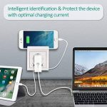 Prise avec USB Double Ports 2.8A Prise Murale Encastrée avec Support de Téléphone Prise Électrique Murale pour iPhone, iPad, Smartphone, MP3, etc de la marque Topular image 4 produit
