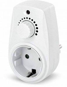 Prise avec variateur d'intensité rotatif pour ampoule halogène LED–230V–max. 280W de la marque HAVA image 0 produit