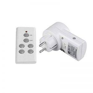 Prise de commutateur commandée à distance (prise UE), télécommande sans fil Prise de courant pour maison individuelle Prise de commutateur 1 Prise de connecteur UE à distance BH9938-1 DC 12V de la marque Detectoy image 0 produit