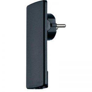 Prise extra plate 16 A 230 V/AC noir Schulte ElekTrotechnik Evoline© Plug de la marque Schulte Elektrotechnik image 0 produit