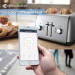 Prise Intelligente Alexa EU WiFi Mini LONGKO Prise WiFi avec Fonction de Minuterie et de Compte à rebours - Travail avec Alexa Echo, Google Home, IFTTT (2 pcs) de la marque LONGKO image 2 produit
