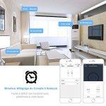 Prise Intelligente Alexa EU WiFi Mini LONGKO Prise WiFi avec Fonction de Minuterie et de Compte à rebours - Travail avec Alexa Echo, Google Home, IFTTT (2 pcs) de la marque LONGKO image 3 produit