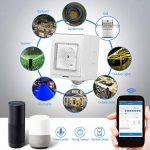 Prise Intelligente, Programmateur Prise Electrique Compatible avec Amazon Alexa et Google Home, Smart Plug ÉtancheIP55, Aucune Hub Requis Prises Télécommandées Contrôle Vos Appareils Connectés n'Impor(blanc) de la marque Garsent image 3 produit