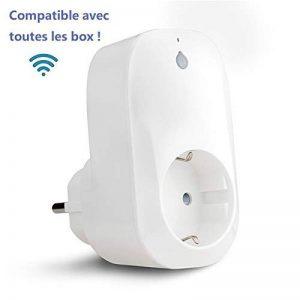 Prise Intelligente WECONN, Smart Prise Connectée WiFi Compatible avec Amazon Alexa et Google Home, Aucune Hub requis de la marque weconn image 0 produit