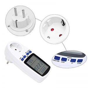 prise électrique avec compteur de consommation kwh TOP 7 image 0 produit