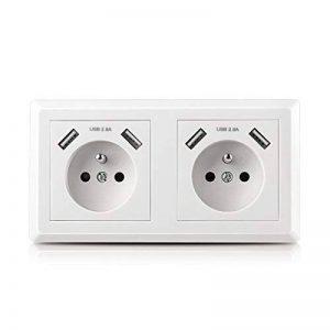 prise électrique double encastrable TOP 12 image 0 produit