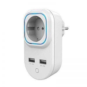 Prise ON/OFF Z-Wave+ avec mesure de consommation et sorties USB - HANK de la marque Hank image 0 produit