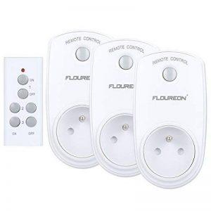 Prise Télécommandée Floureon, Kit de 3 Prises Programmables sans Fil à Distance Télécommande à Portée de 30m Électroménagers - Blanc de la marque FLOUREON image 0 produit
