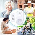 Prise Télécommandée Floureon, Kit de 3 Prises Programmables sans Fil à Distance Télécommande à Portée de 30m Électroménagers - Blanc de la marque FLOUREON image 4 produit
