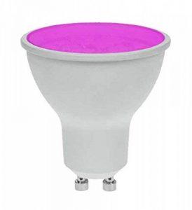 Pro-Lite ampoule LED 7W GU10Magenta coloré Twist et Lock non dimmable de la marque ProLite image 0 produit