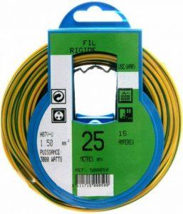 Profiplast PRP500050 Couronne de câble 25 m ho7v-u 1,5 mm Vert/Jaune de la marque Profiplast image 0 produit