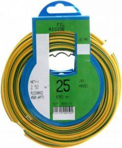 Profiplast PRP500250 Couronne de câble 25 m ho7v-u 2,5 mm Vert/Jaune de la marque Profiplast image 0 produit