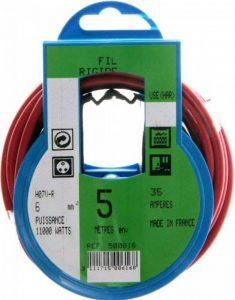 Profiplast PRP500616 Couronne de câble 5 m ho7v-r 6 mm Rouge de la marque Profiplast image 0 produit