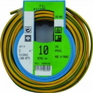 Profiplast PRP500620 Couronne de câble 10 m ho7v-r Vert/Jaune 6 mm de la marque Profiplast image 0 produit