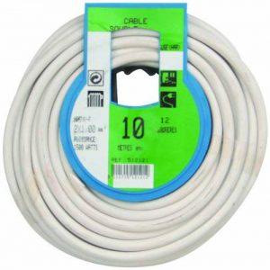 Profiplast PRP512121 Couronne de câble 10 m ho5vvf 2 x 1 mm Blanc de la marque Profiplast image 0 produit